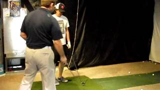 Training with the king of swing Matt Christian Firing your right side through the shot