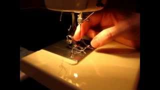 How to thread Kenmore Model #13450.MOV