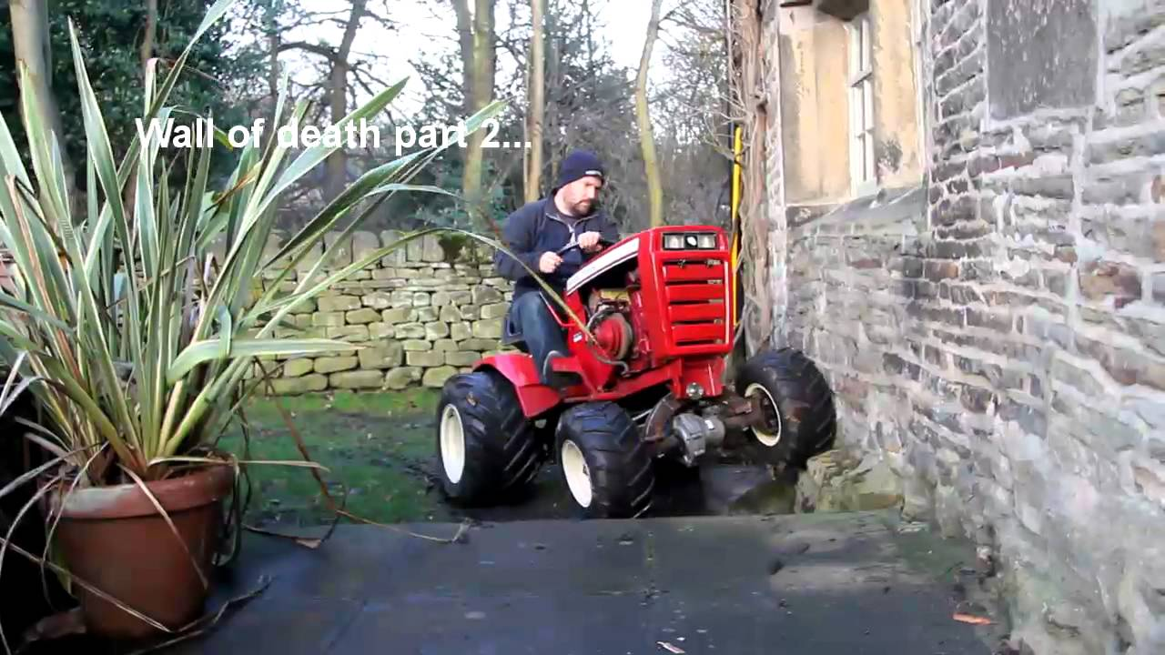 Project C4 Wheel Horse C 101 4x4 Conversion Taming The