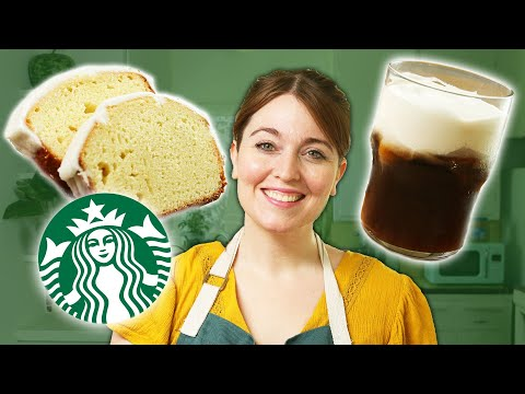 i-recreated-my-starbucks-order:-salted-cream-cold-foam-cold-brew-and-lemon-loaf-•-tasty