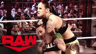 Shayna Baszler's path of destruction at Elimination Chamber: Raw, March 16, 2020