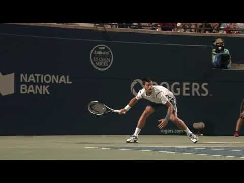 Djokovic steamrolls Monfils in Rogers Cup semifinal