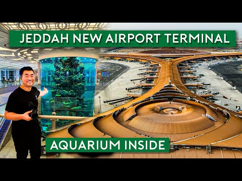 Jeddah New Airport Terminal - Saudi Arabia's Latest Landmark مطار جدة