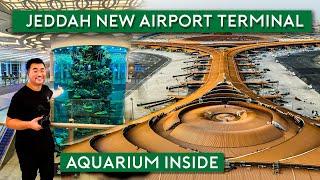 Jeddah New Airport Terminal - Saudi Arabia's Latest Landmark مطار جدة