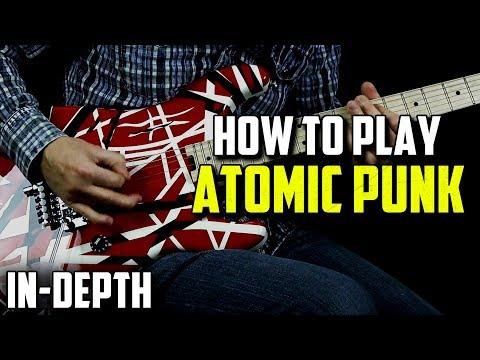 How to Play Atomic Punk by Van Halen (Rock Guitar)