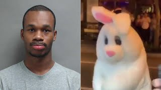 Easter bunny who broke up fight in Florida has criminal record, New Jersey warrant