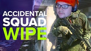 DYRUS | Accidentally wiping squads?! | Escape from Tarkov