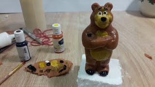 Как слепить Машу и медведь Медведь с помощью молда | How to dazzle Masha and Bear Bear with Mold
