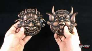 Collectible Spot - The Monster Company Labyrinth Mouth Holding And Deaf Door Knocker Set