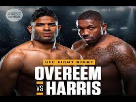 UFC Fight Night_ Overeem vs. Harris predictions, odds, picks: Best ...