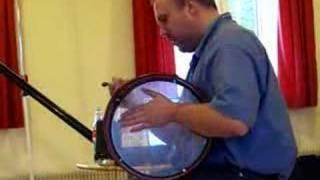 Drumbeats auf der Bodhrán - Lehrclip von R. Wagels - Beat 2