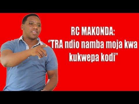 RC MAKONDA: ''Wakwepa kodi namba moja kwenye taifa ili ni TRA wenyewe''