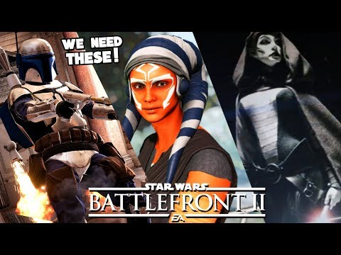 Star Wars Battlefront 2 - 5 Clone Wars DLC Heroes We NEED in Battlefront II 2019! thumbnail