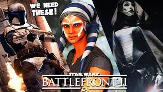 Star Wars Battlefront 2 - 5 Clone Wars DLC Heroes We NEED in Battlefront II 2019!