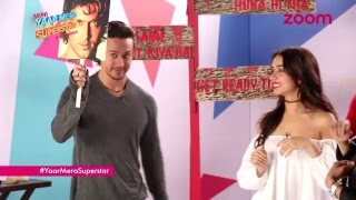 'Baaghi' Facegame With Tiger Shroff & Shraddha Kapoor | Yaar Mera Superstar | EXCLUSIVE | zoom