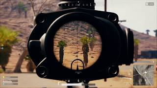 Xbox PUBG Highlight | 400m Snipe at a Moving Buggy