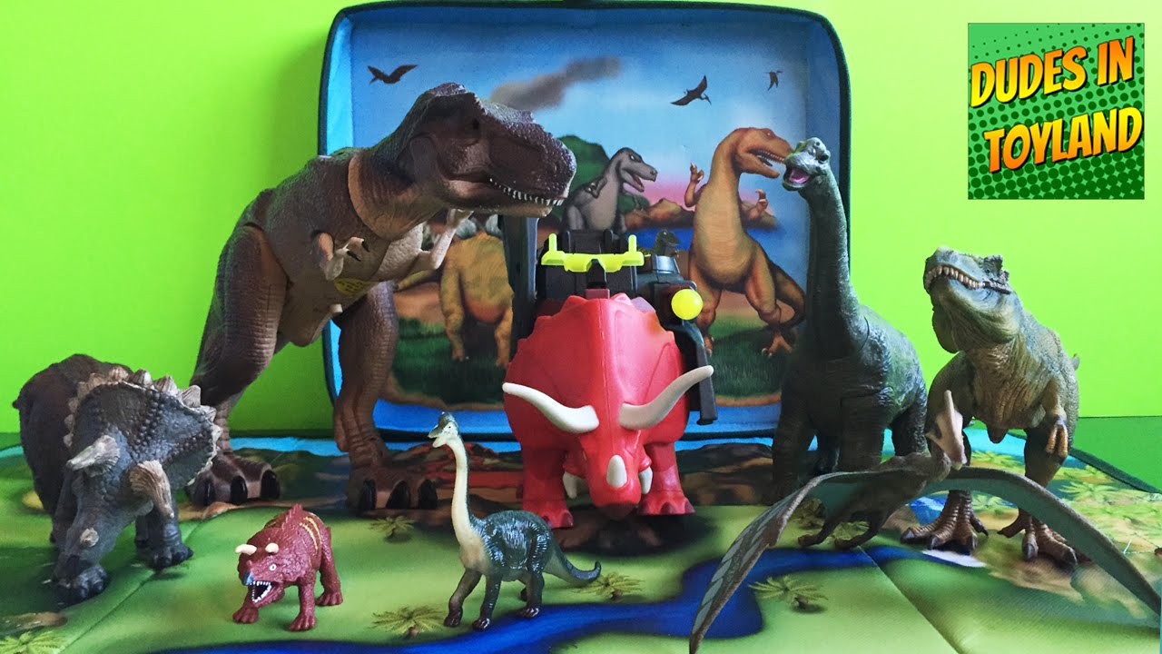 Toy Dinosaurs Schleich Amp Imaginext Dinosaurs Toys Youtube