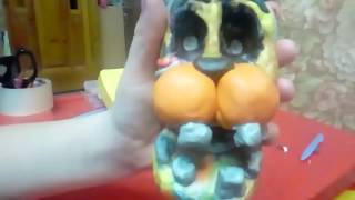 - ФНАФ ИЗ ПЛАСТИЛИНА 3, ШЕДОУ ФРЕДДИ, ШЕДОУ БОННИ Shadow Bonnie, Shadow Freddy, plastilin tutorial