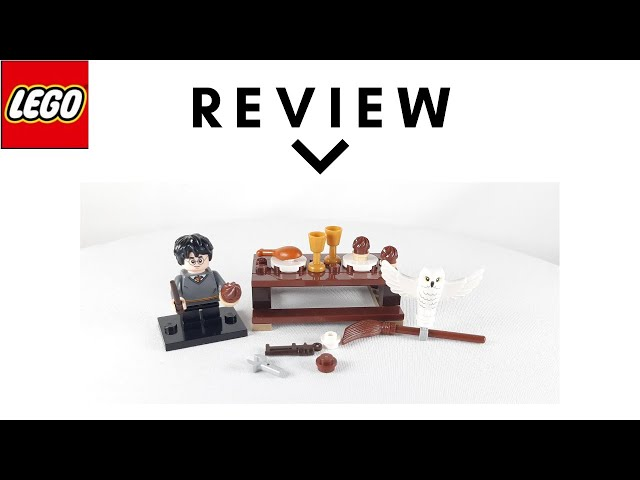 Lego Harry Potter and Hedwig Owl Delivery Polybag - Review, Speed Build