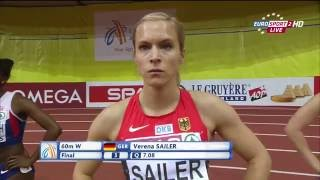 HD. European Athletics Indoor Championships-2015. Day 3