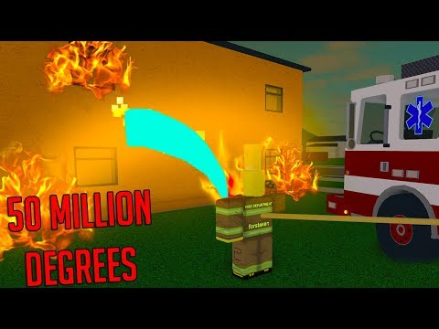 ROBLOX FIREFIGHTING SIMULATOR *FIRE IS BAD!*