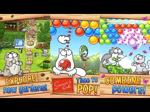 Simon's Cat - Pop Time Android Gameplay