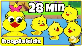 Five Little Ducks | Popular Nursery Rhymes Collection For Kids by Hooplakidz