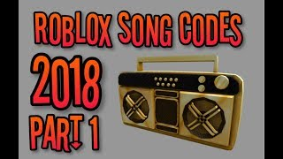 🎶Roblox Song Codes 2018 [Part 1] e.g raining tacos, twenty one pilots✔️