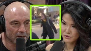 Joe Rogan Watches Deranged Anti-Trump College Protester