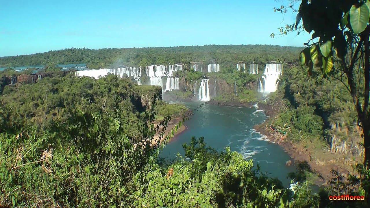 Iguazul Falls Wallpaper Brazil Iguassu Falls Brazilian Side 1 South America