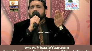 Qari Shahid Mehmood At Qtv Program Naat Zindagi Hai 07-03-2014 With Sarwar Naqshbandi.By Visaal