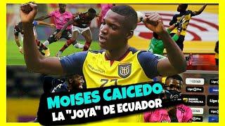 Quien es MOISES CAICEDO la Nueva JOYA de Ecuador ?