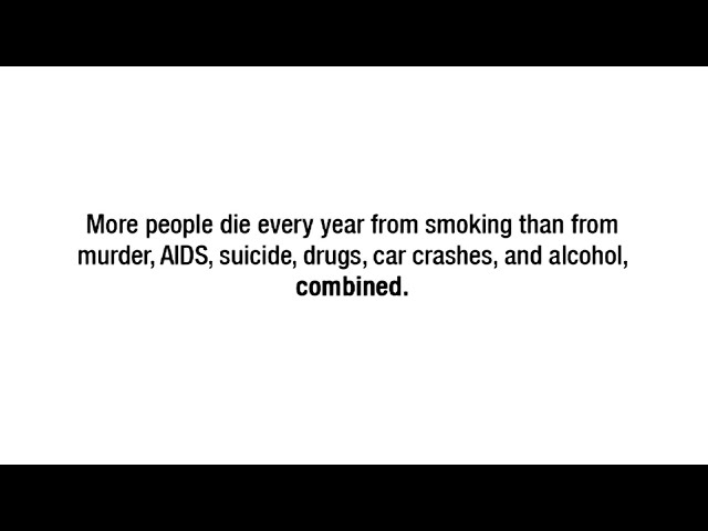 anti smoking persuasive speech