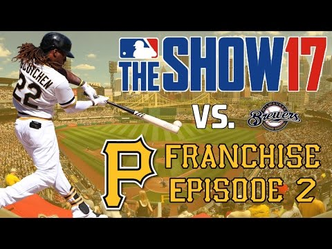 MLB 17 The Show: Pittsburgh Pirates Franchise - TYLER GLASNOW START! [Y1G29 EP2]