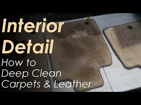Interior Detail // Carpet and Leather Deep Cleaning // Lexus