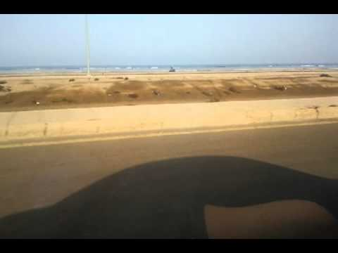The beach at Naval Base, Jeddah, K.S.A.
