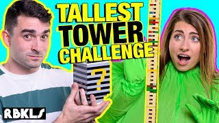 TALLEST LEGO Tower Challenge - REBRICKULOUS