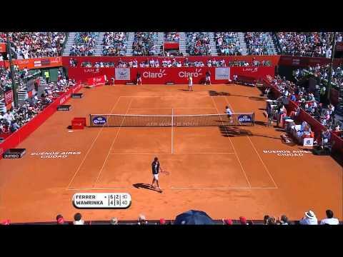 David Ferrer vs Stanislas Wawrinka Copa Claro ATP 250 Tennis Series [Final 24/2/13]