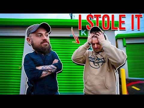 Attempted Robbery By Rob @LunkersTV ! We Bought Abandoned Storage Units! Big Profits?