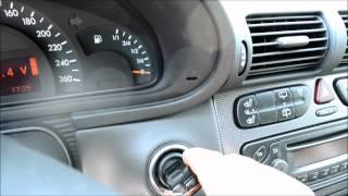 Mercedes W203 Secretmenue (Ölstand in Litern etc)