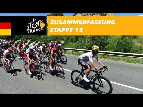 Zusammenfassung - Etappe 15 - Tour de France 2017