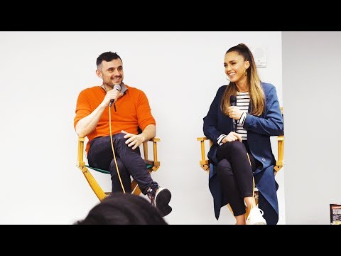 Jessica Alba and Gary Vaynerchuk Fireside Chat | VaynerMedia NYC 2017