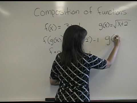 Composition of functions (math)