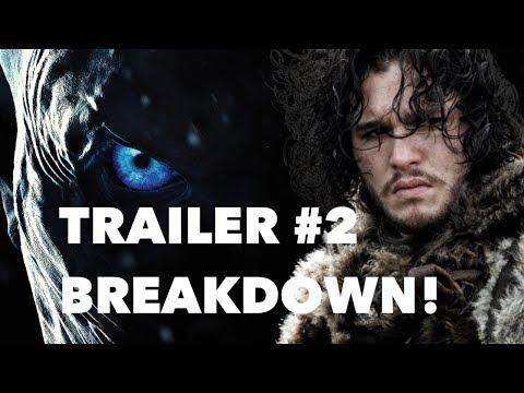 Game of Thrones - Season 7 Trailer #2 REACTION & REVIEW!