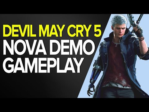 DEVIL MAY CRY 5 - NOVA DEMO - GAMEPLAY XBOX ONE thumbnail