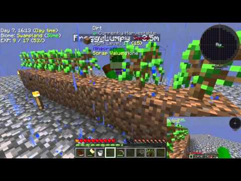 Minecraft Project Ozone E3 Veinminer the Trees - YouTube