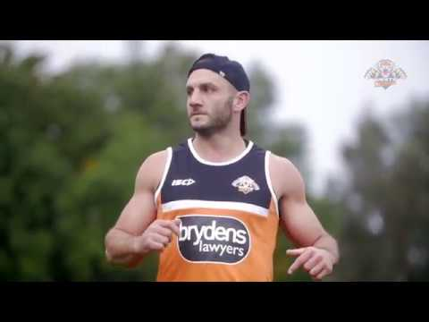 Robbie Farah's first interview back at Wests Tigers