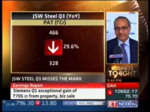 JSW Steel talks to ET Now about commodity prices and imports in India.