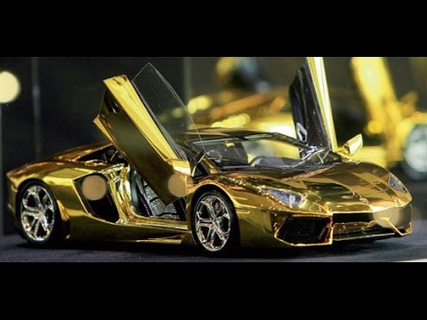 top 20 most expensive gold car in the world youtube. Black Bedroom Furniture Sets. Home Design Ideas