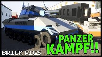 PANZER KAMPF! | COOP | BrickRigs | Let´s Play Brick Rigs Deutsch - German | Lego